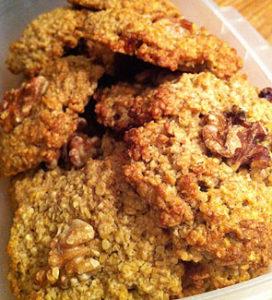 Быстрое овсяное печенье