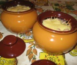 Картофель по-деревенски в горшочках