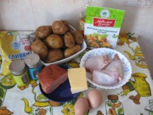Картофель по-деревенски в горшочках1
