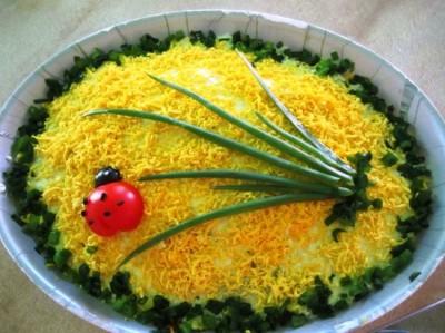 Салат мимоза зделать