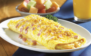 омлет из яиц и молока2
