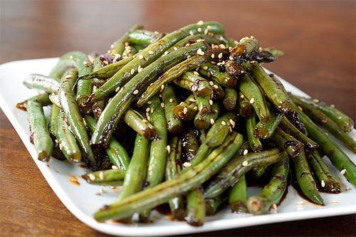 Рецепты зеленой стручковой фасоли фото