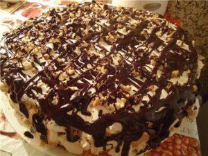 торт Сникерс10