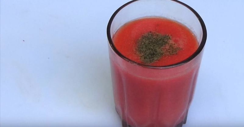 Как сделать томатный сок из своих помидор