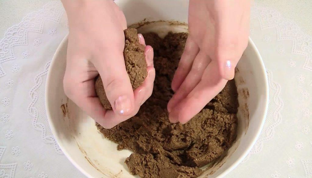 приготовление пирожного картошка