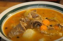Суп из говядины - вкусный зимний суп